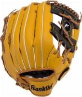 Franklin Field Master Series Right-Handed Baseball Glove - Yellow/Black