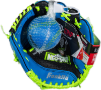 Franklin Neo-Grip® Series Baseball Glove and Ball Set - Blue/Lime Green