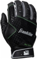 Franklin 2nd Skinz Youth Batting Glove - Black