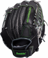 Franklin Fastpitch Pro Series Right-Handed Softball Fielding Glove - Black/Lime