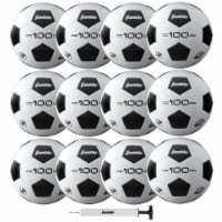Franklin S3 Competition F-100 Soccer Ball & Pump Set - 12 pk