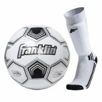 Franklin Size 3 Soccer Starter Set - Youth - White/Black
