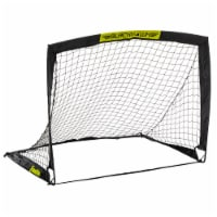 Franklin Blackhawk Soccer Goal - Black/Yellow