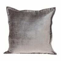 Parkland Collection Agneta Transitional Taupe Throw Pillow - 1