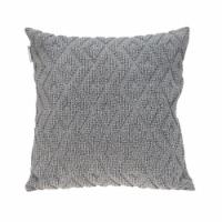 Parkland Collection Sorrel Transitional Gray Throw Pillow - 1