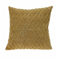 Parkland Collection Sorrel Transitional Beige Throw Pillow - 1