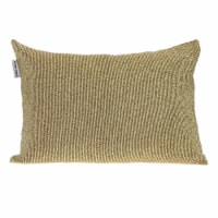 Parkland Collection Aster Transitional Gold Throw Pillow - 1