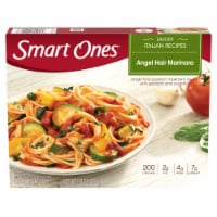 Smart Ones Savory Italian Recipes Angel Hair Marinara