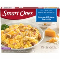 Smart Ones Tasty American Favorites Ham and Cheese Scramble Frozen Meal