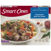 Smart Ones Tasty American Favorites Homestyle Beef Pot Roast - 9 oz