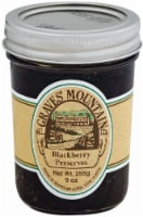 Graves' Mountain Blackberry Preserve - 9 oz