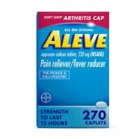 Aleve Arthritis Cap Pain Reliever & Fever Reducer Caplets 220mg