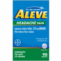 Aleve® Naproxen Sodium Pain Reliever and Fever Reducer Tablets 220mg - 90 ct
