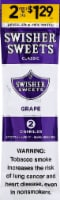 Swisher Sweets Grape Cigarillos 2 Count