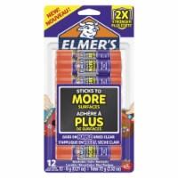 Elmers 2004797 0.21 oz Extra Strength Glue Sticks, Clear - Pack of 12 - 1