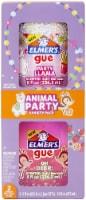Elmer's Premade Slime 2/Pkg-Animal Party - 1
