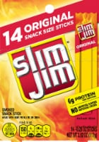 Slim Jim Original Snack Sized Meat Sticks 14 Count