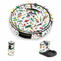 MightySkins IRRO690-Bright Lures Skin for iRobot Roomba 690 Robot Vacuum, Bright Lures - 1