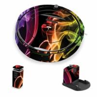 MightySkins IRRO690-Bright Smoke Skin for iRobot Roomba 690 Robot Vacuum, Bright Smoke - 1