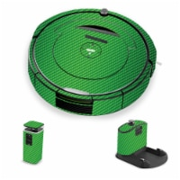 MightySkins IRRO690-Lime Carbon Fiber Skin for iRobot Roomba 690 Robot Vacuum, Lime Carbon Fi - 1