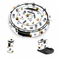 MightySkins IRRO690-Love The 90s Skin for iRobot Roomba 690 Robot Vacuum, Love The 90s - 1