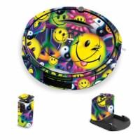 MightySkins IRRO690-Peace Smile Skin for iRobot Roomba 690 Robot Vacuum, Peace Smile - 1