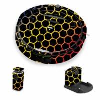 MightySkins IRRO690-Primary Honeycomb Skin for iRobot Roomba 690 Robot Vacuum, Primary Honeyc - 1