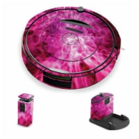 MightySkins IRRO690-Red Mystic Flames Skin for iRobot Roomba 690 Robot Vacuum, Red Mystic Fla - 1