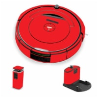 MightySkins IRRO690-Solid Red Skin for iRobot Roomba 690 Robot Vacuum, Solid Red - 1