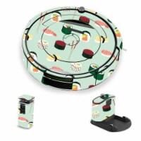 MightySkins IRRO690-Sushi Skin for iRobot Roomba 690 Robot Vacuum, Sushi - 1