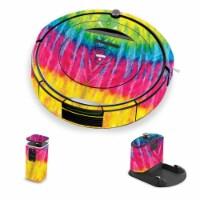 MightySkins IRRO690-Tie Dye 2 Skin for iRobot Roomba 690 Robot Vacuum, Tie Dye 2 - 1