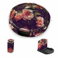 MightySkins IRRO690-Vintage Roses Skin for iRobot Roomba 690 Robot Vacuum, Vintage Roses - 1