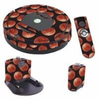 MightySkins IRRO770-Basketball Skin for iRobot Roomba 770 Robot Vacuum, Basketball - 1