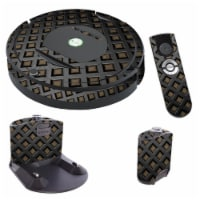 MightySkins IRRO770-Black Wall Skin for iRobot Roomba 770 Robot Vacuum, Black Wall - 1