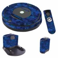 MightySkins IRRO770-Blue Ice Skin for iRobot Roomba 770 Robot Vacuum, Blue Ice - 1