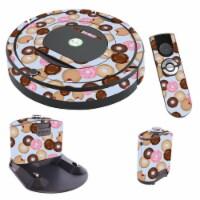 MightySkins IRRO770-Donut Binge Skin for iRobot Roomba 770 Robot Vacuum, Donut Binge - 1
