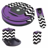 MightySkins IRRO770-Purple Chevron Skin for iRobot Roomba 770 Robot Vacuum, Purple Chevron - 1