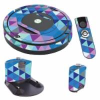 MightySkins IRRO770-Purple Kaleidoscope Skin for iRobot Roomba 770 Robot Vacuum, Purple Kalei - 1