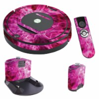 MightySkins IRRO770-Red Mystic Flames Skin for iRobot Roomba 770 Robot Vacuum, Red Mystic Fla - 1