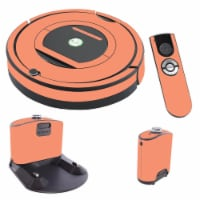 MightySkins IRRO770-Solid Peach Skin for iRobot Roomba 770 Robot Vacuum, Solid Peach - 1