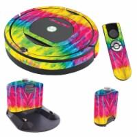 MightySkins IRRO770-Tie Dye 2 Skin for iRobot Roomba 770 Robot Vacuum, Tie Dye 2 - 1