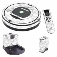 MightySkins IRRO770-Viper Snow Skin for iRobot Roomba 770 Robot Vacuum, Viper Snow - 1