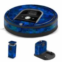 MightySkins IRRO960-Blue Ice Skin for iRobot Roomba 960 Robot Vacuum, Blue Ice - 1
