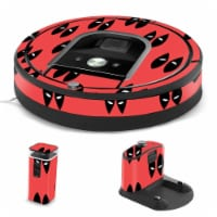 MightySkins IRRO960-Dead Eyes Pool Skin for iRobot Roomba 960 Robot Vacuum, Dead Eyes Pool - 1