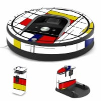 MightySkins IRRO960-Deco Skin for iRobot Roomba 960 Robot Vacuum, Deco - 1
