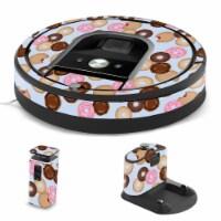 MightySkins IRRO960-Donut Binge Skin for iRobot Roomba 960 Robot Vacuum, Donut Binge - 1