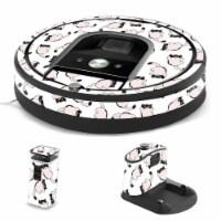 MightySkins IRRO960-Raining Cats Skin for iRobot Roomba 960 Robot Vacuum, Raining Cats - 1