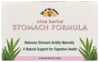 Lily of the Desert Aloe Fresh Mint Herbal Stomach Formula Shots 12 Count