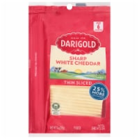 Darigold Natural Sharp Yellow Cheddar Cheese Slices
