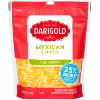Darigold Mexican 4 Cheese Blend Fine Shredded Cheese